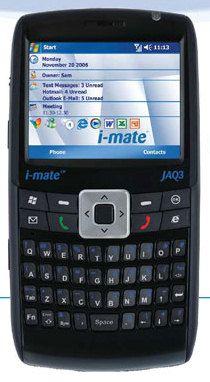 Коммуникаторы i-mate JAQ3 и PDAL: подробности