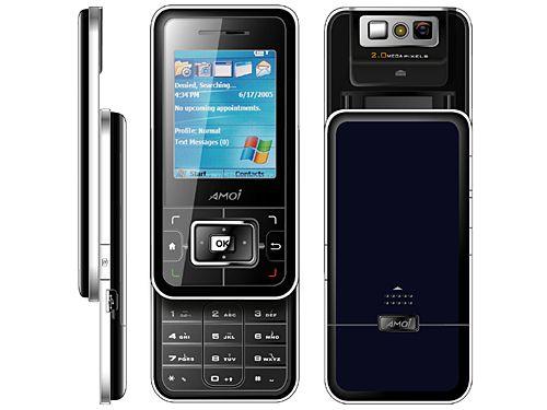 E72, E75, E76 и E78: бюджетные смартфоны от Amoi