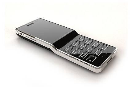 Sony Ericsson Black Diamond: концепт имиджевого телефона