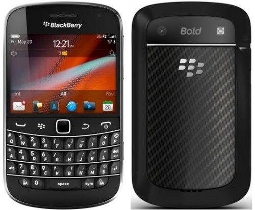 BlackBerry Bold 9900, BlackBerry Bold 9930 выглядит так же