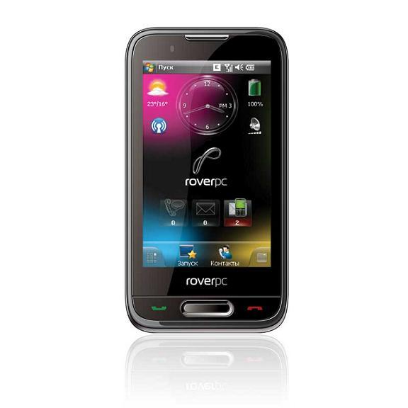 RoverPC Evo X8 - новый коммуникатор с широкоформатным дисплеем