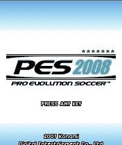 Pro Evolution Soccer 2008, окно игры