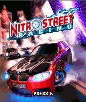 Nitro Street Racing 3D, окно игры