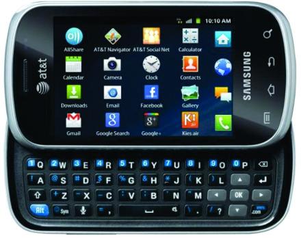 Новый смартфон от Samsung
