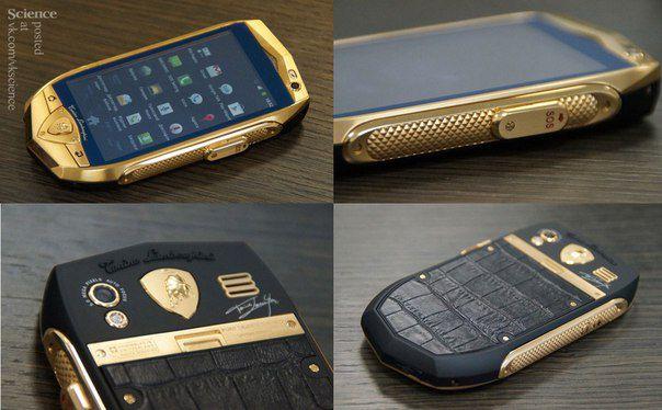 Lamborghini выпускает смартфоны