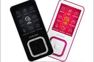 Дизайн iPhone 4 и плеер Samsung YP-Q3