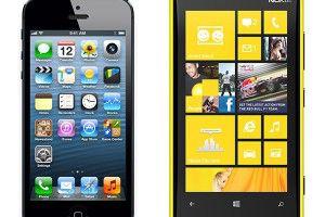 Nokia Lumia 920 популярнее iPhone 5