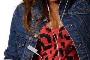 Зарядка для телефона из одежды