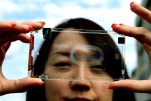 Представлен первый в мире прозрачный телефон