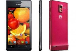 Выход телефона Huawei Ascend P6