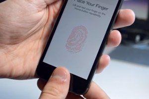 Аппарат HTC и сканер отпечатков пальцев