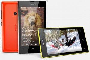 Компания Nokia представила Lumia 525