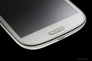 Samsung Galaxy с кристаллами Swarovski