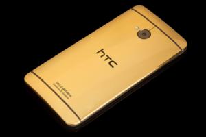 "Смартфон HTC One станет ""золотым"""