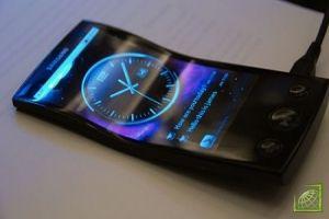 Новинка от Samsung - гнущиеся телефоны
