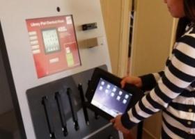 В американской библиотеке появился торговый автомат с планшетами iPad