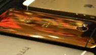 Золотые HTC стоимостью $4500 сразу покрываются  потертостями и царапинами
