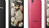 Lenovo анонсировала Android-смартфоны на две SIM-карты.