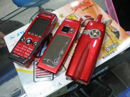 Телефон с электрошокером из Китая