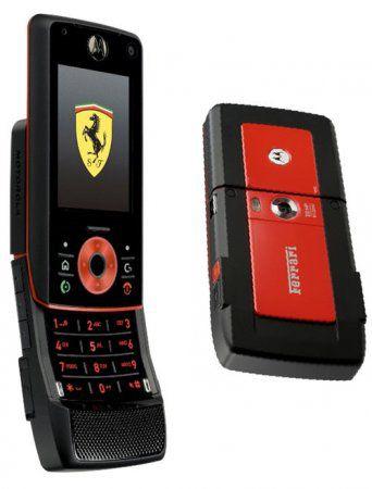 Motorola Z8 для фанатов Ferrari