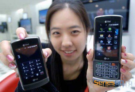 Официальный анонс LG AX830