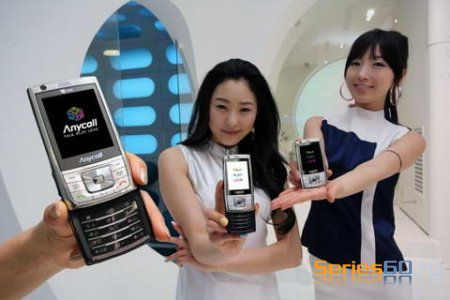 Samsung SCH-M470 в Корее