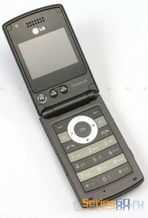 LG BH620T: Европейский телефон