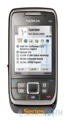 Nokia официально представила бизнес-смартфон Nokia E66