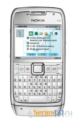 Компания Nokia представила смартфон Nokia E71