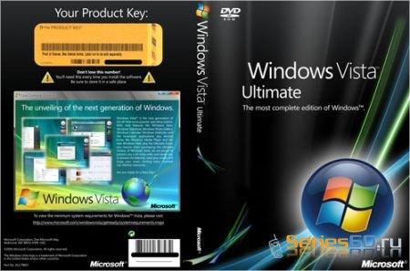 Windows Vista ULTIMATE x86 SP1 Integrated July 2008 OEM DVD-BIE