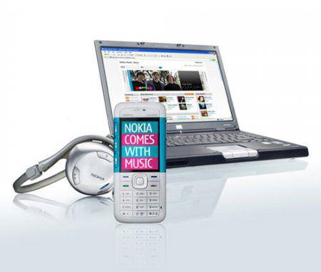 """Nokia запускает программу """"Comes With Music"""" в Великобритании"""