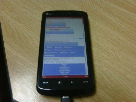 HTC Touch HD с разрешением 480 x 800 fullscreen