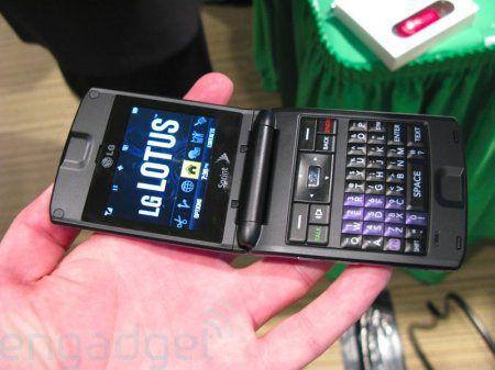LG Lotus специально для Sprint