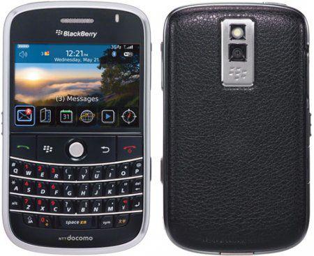 NTT DoCoMo запускает BlackBerry Bold в Японии в следующем году
