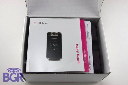 Unboxing T-Mobile BlackBerry Pearl 8220