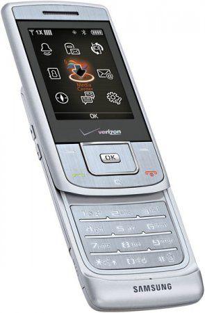 Samsung Sway – музыкальный слайдер для Verizon Wireless
