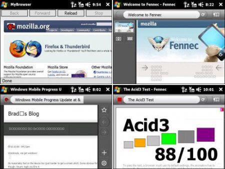 Доступны первые скриншоты мобильного браузера Firefox