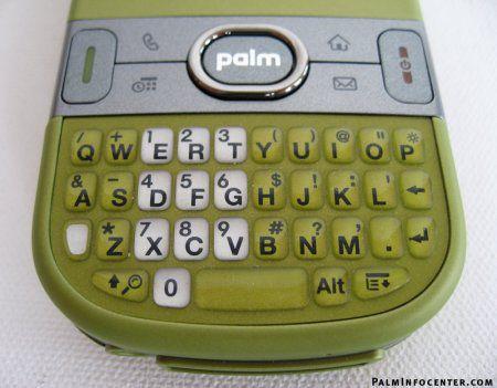 Оливково-зелёный Palm Centro от Sprint