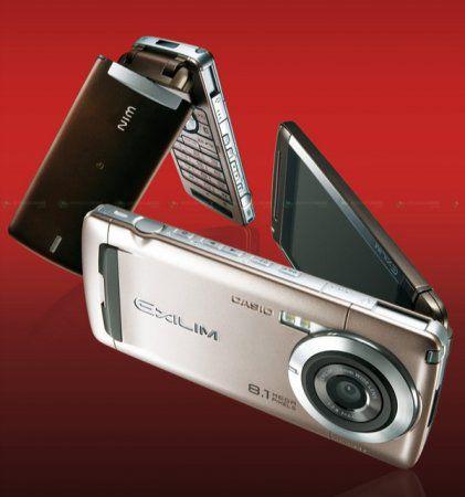 Casio 8.1 Мп W63CA с 480 x 800 пиксельным OLED дисплеем в Японии