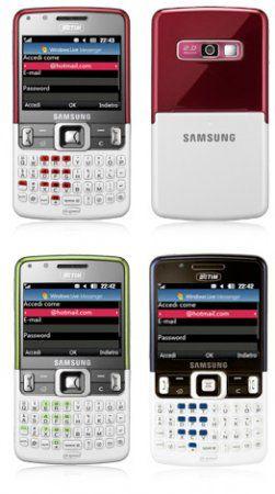 Samsung's C6620 симпатичный и подходит для работы с WinMo 6.1