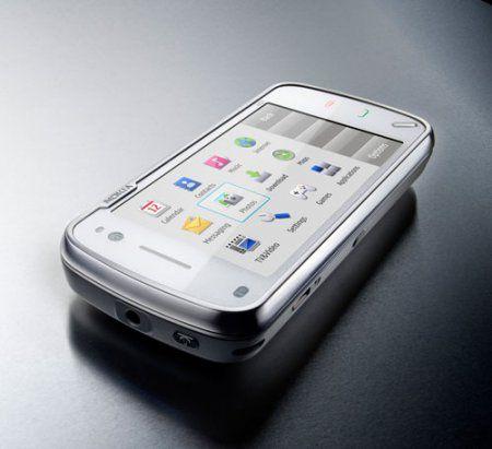Nokia N97: новый смарфтон компании с сенсорным экраном и выдвижной QWERTY клавиатурой