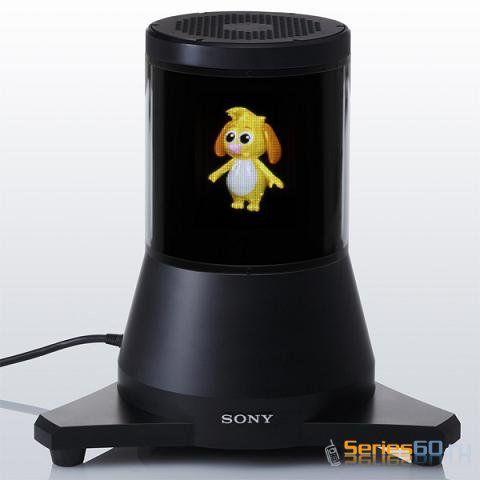 Sony демонстрирует прототип 3D дисплея