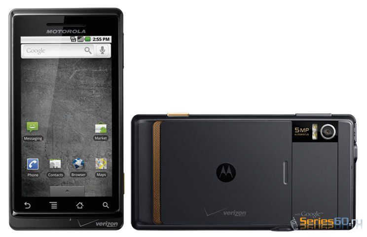 Motorola представила первый смартфон на платформе Android 2.0