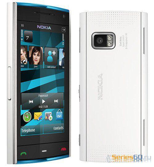 Nokia X6 появится в Великобритании 12 ноября