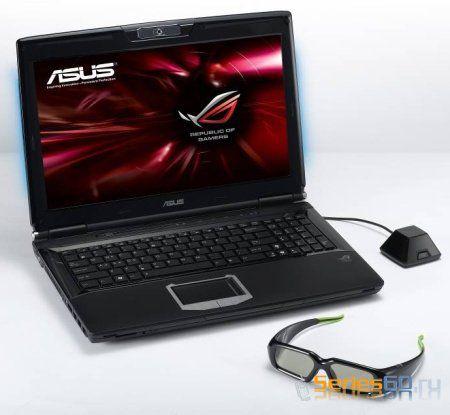 Asus представляет игровой ноутбук G51J-SZ028V с поддержкой 3D изображения