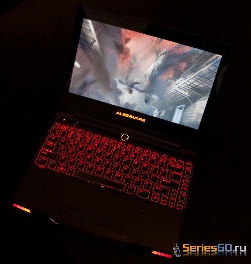 Alienware M11x самый маленький игровой ноутбук или геймерский нетбук