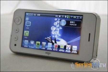 Aigo N500 - телефон под управлением Maemo