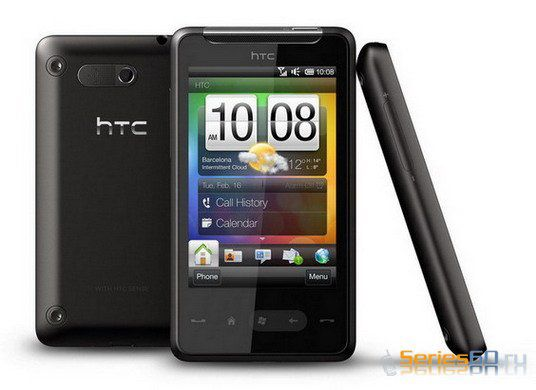 Коммуникатор HTC Photon представили как HTC HD Mini