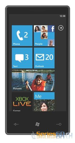 Устройства с Windows Phone 7 Series получат три типа корпуса
