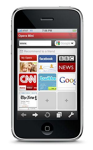 Браузер Opera Mini одобрен для размещения в Apple App ...